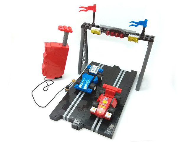 Polistil electric slot racing set