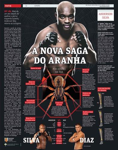 Metro SP / UFC Anderson Silva - 2015