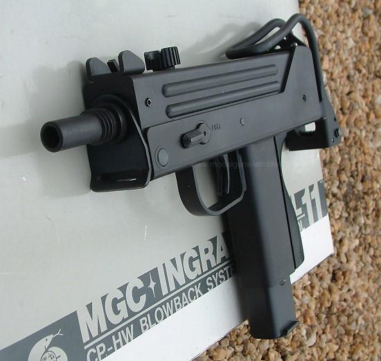 Mac 10 Sub Machine Gun Reference Images