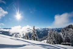 Skitour bei Balderschwang. Winter im Allgäu!