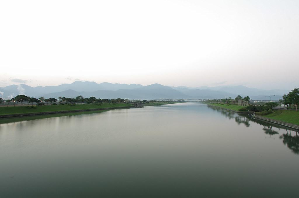美麗的冬山河