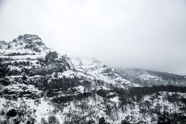 Valle del Asón, cascada