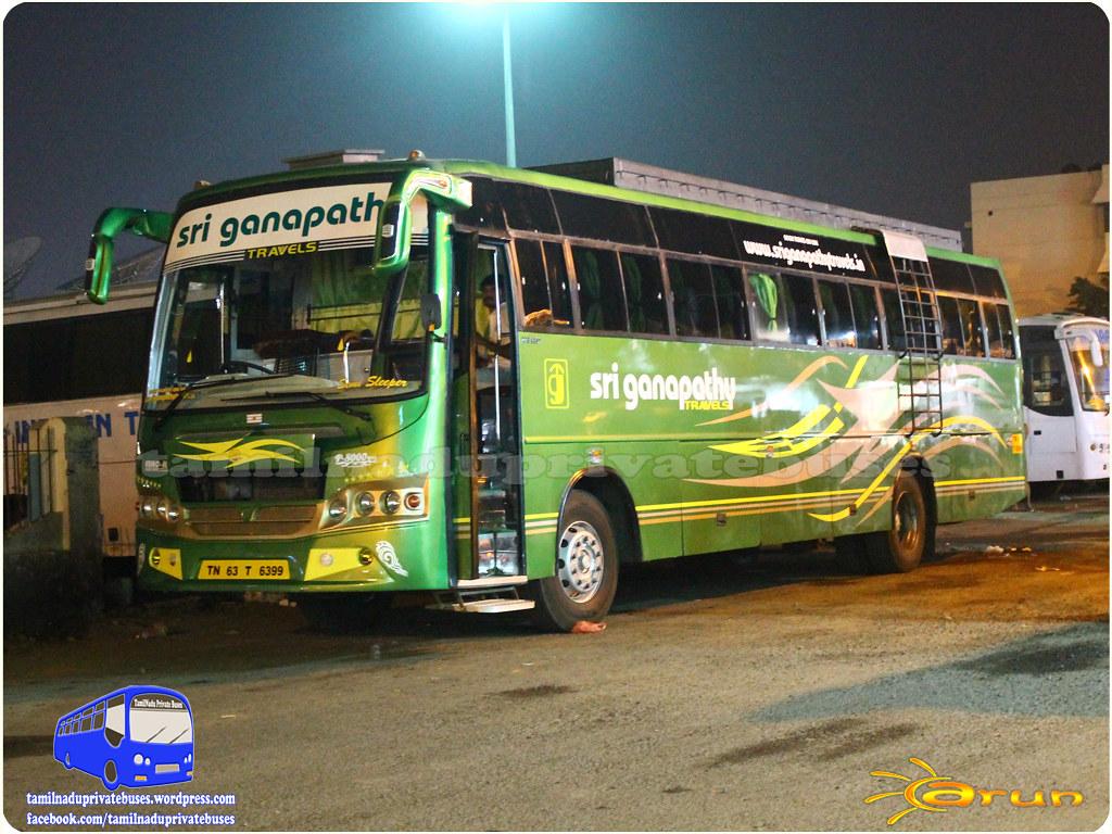 Sri Ganapathy Route Coimbatore - Tirunelveli