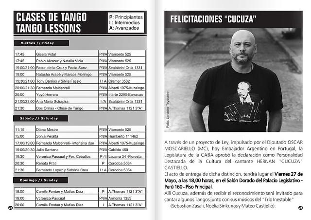 Revista Punto Tango Mayo 2016 - 2