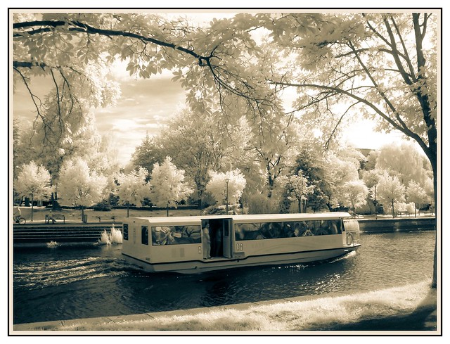 Decebal Boat on Bega Timisoara