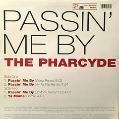 THE PHARCYDE:PASSIN' ME BY(JACKET B)