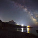 Milky Way over the Laspi bay
