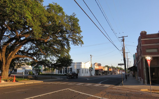 Downtown Abbeville, Louisiana