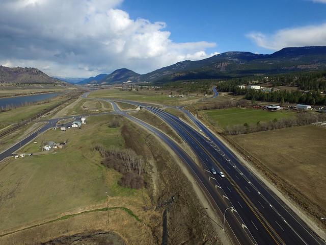 Highway 1 Monte Creek Interchange