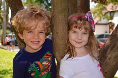 Everett And Eleanor On The Last Day Of School