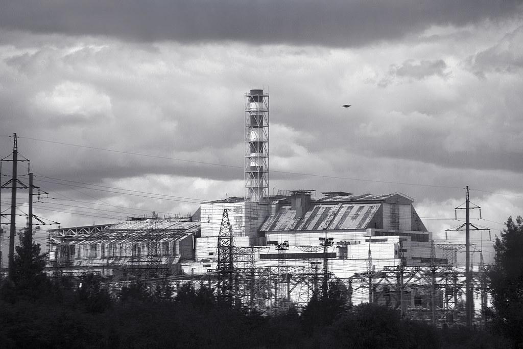 Chernobyl Map - Central Ukraine