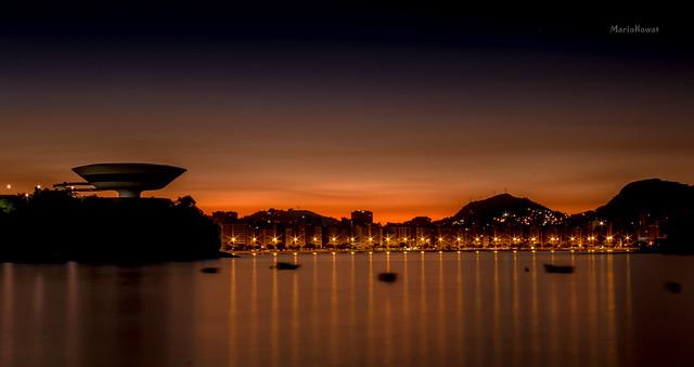 Na Praia da Boa Viagem - Niterói - Rio de Janeiro