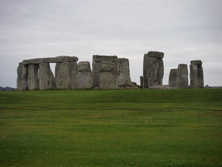 Stonehenge from footpath along northerly side