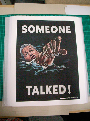 SOMEONE TALKED FINE ART PRINT by WilliamBanzai7/Colonel Flick