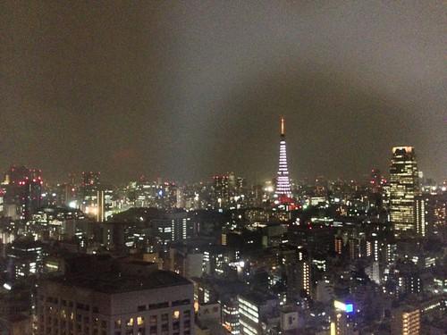 夜晚的東京鐵塔(1)