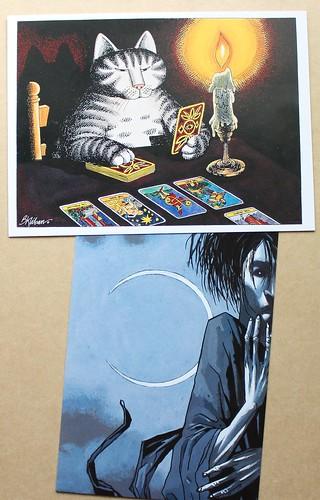 Kliban Cat & Sandman