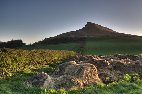 Roseberry Topping in the early light.
