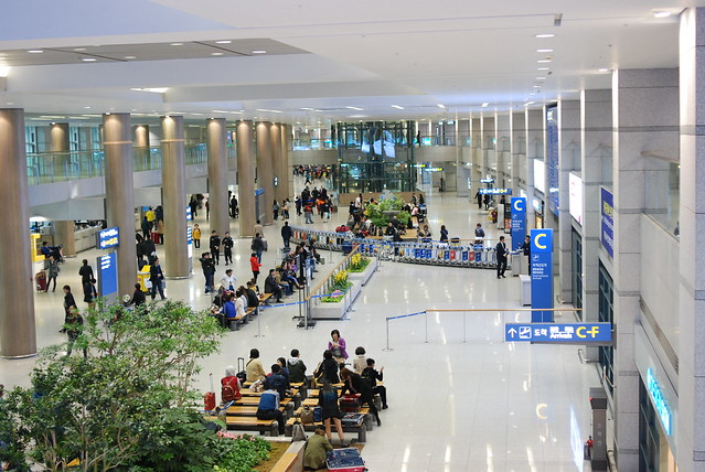 Incheon Airport, 1st Floor