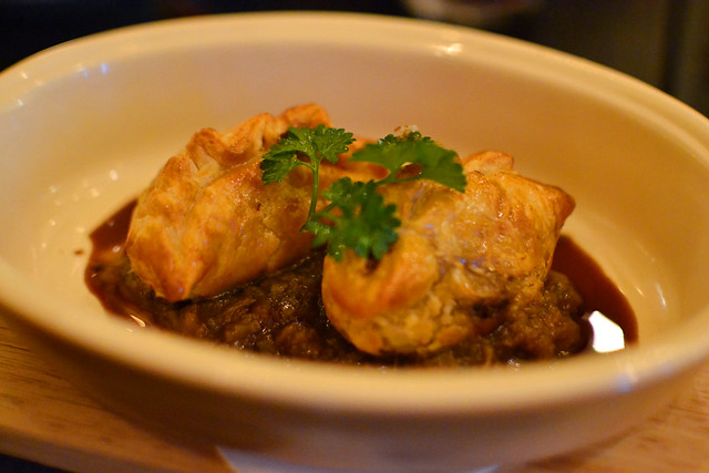 Confit Duck Puff, Spathe Public House, Mohamed Sultan