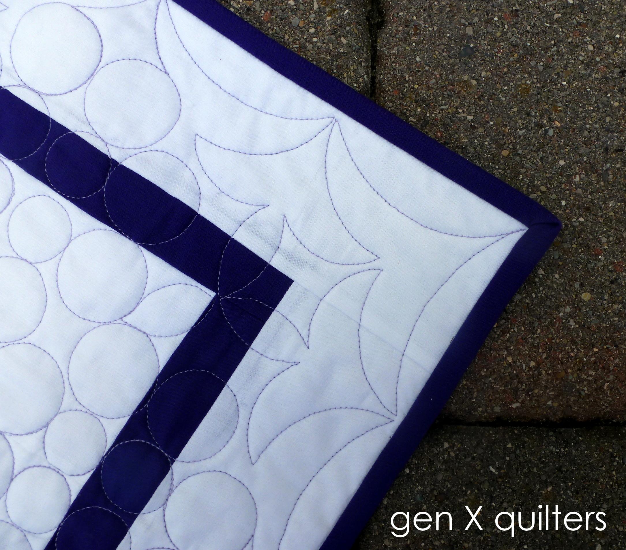 corner Lagoon quilt