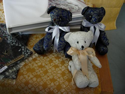 Songket teddy bears