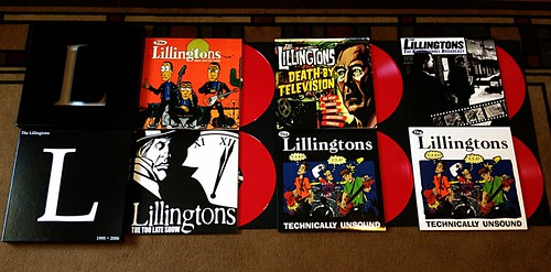 The Lillingtons - 6xLP Box Set - Metal Version (/50) by Tim PopKid