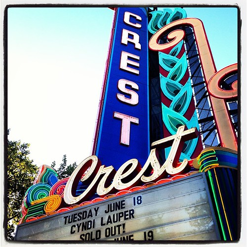 #thecrest #sacramento #california #mothafucking #cyndilauper #shessounusual #ivebeenwaitingforthissince #1983 by Big Gay Dragon