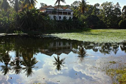 reflections of Wat Bakong