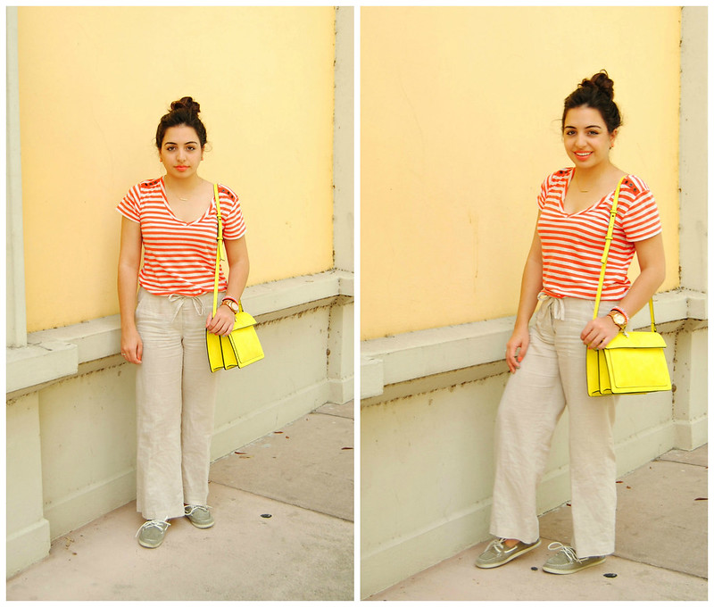 summer casual outfit.