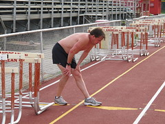 athletics, track and field athletics, sport venue, 110 metres hurdles, obstacle race, 100 metres hurdles, sports, hurdle, person, physical exercise, hurdling, athlete,