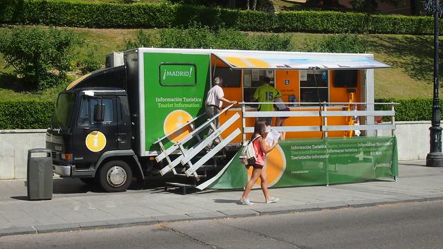 Madrid Tourist Information Truck