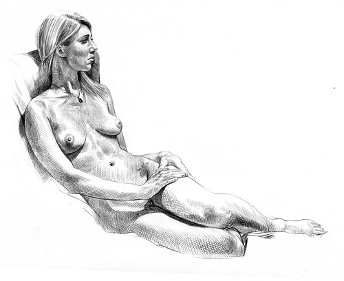 Anna Ray life drawing