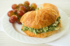 The perfect sandwich for a bounty of basil!