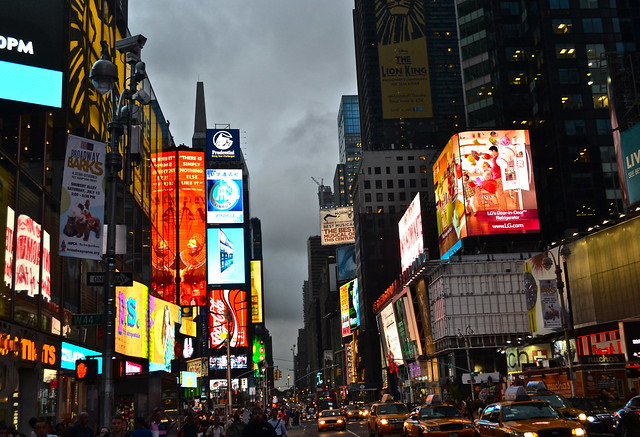 facts about times square