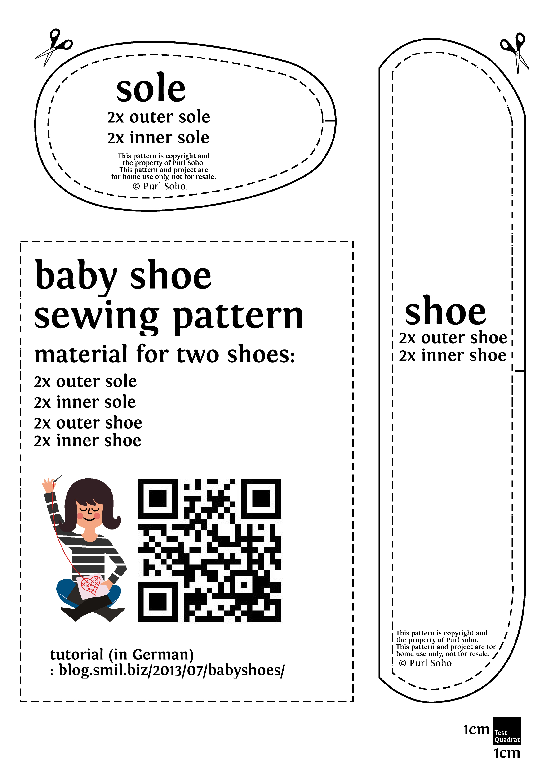 baby shoe tutorial – Babyschuhe selber nähen