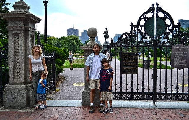 Boston Commons and Public Gardens