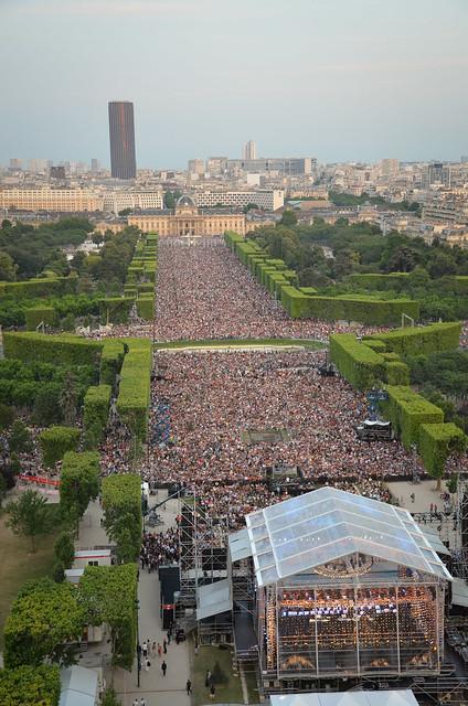 Concert du 14 juillet sur le Champ de Mars