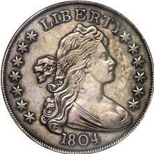 Mickley 1804 dollar