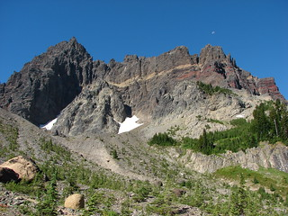 Three Fingered Jack from the upper meadow