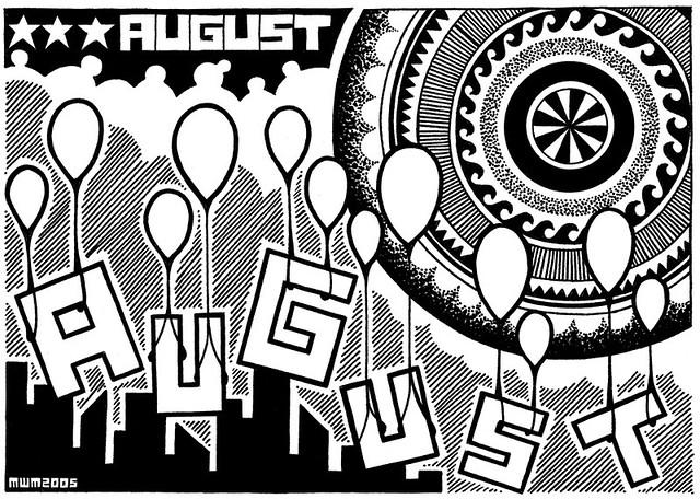 August : Street Level & Sky High.