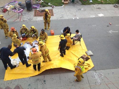 Vehicle hits pedestrians Venice Beach 8-3-13