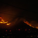 Silver Fire In California Night Of August 8, 2013 - 1