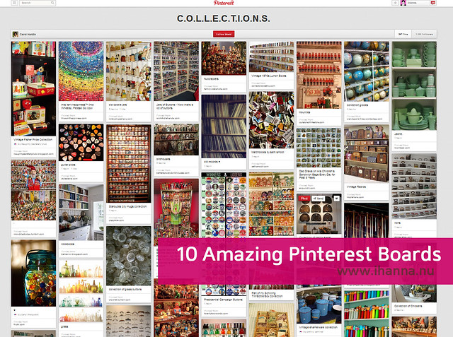 10 Amazing Pinterest Collections