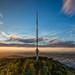 Uetliberg sunset by Sandro Bisaro