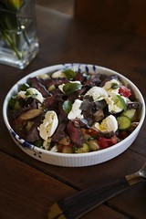 meal(0.0), meat(0.0), produce(0.0), salad(1.0), vegetable(1.0), vegetarian food(1.0), greek salad(1.0), food(1.0), dish(1.0), cuisine(1.0), feta(1.0),