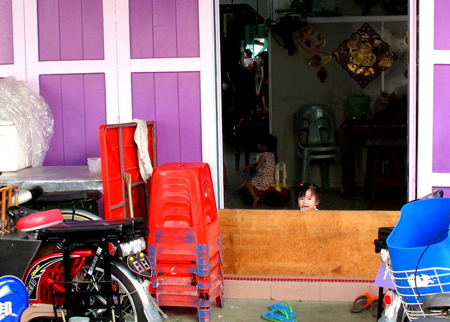 Pulau Ketam, Crab Island - the kid in the purple house