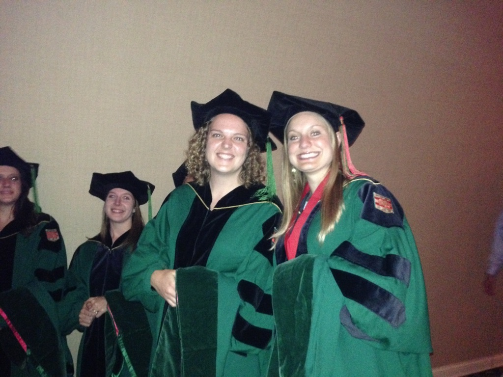 Graduated school for physical therapy - Program In Physical Therapy Diploma Distribution Hooding Ceremony 2013