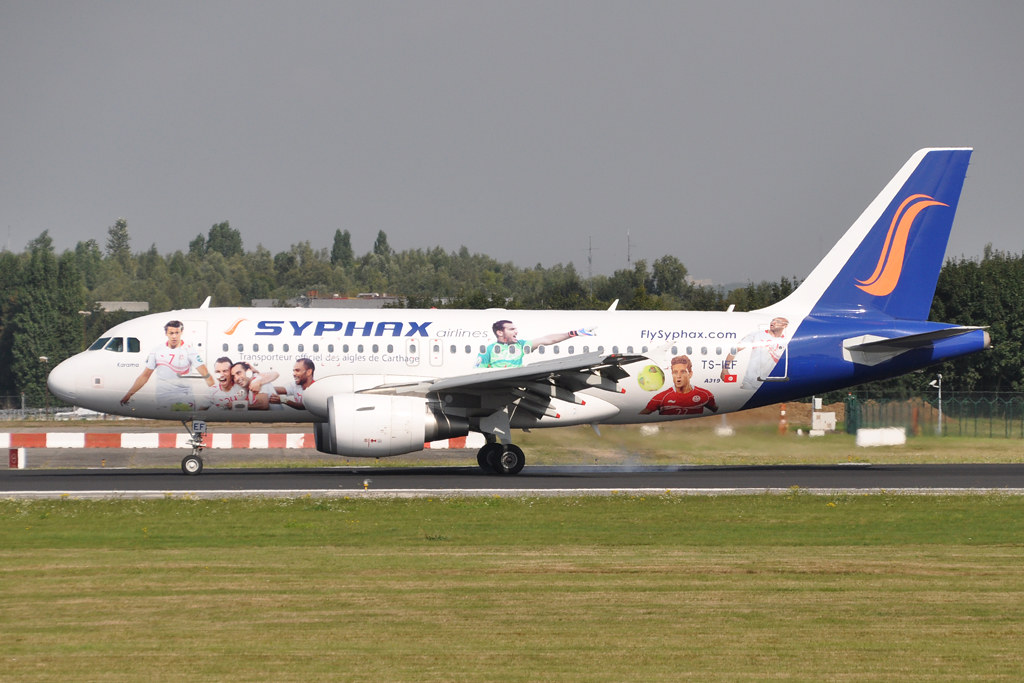 SYPHAX AIRWAYS TS-IEF A319