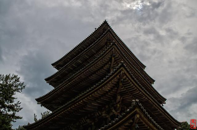 「曇り空」 醍醐寺 - 京都