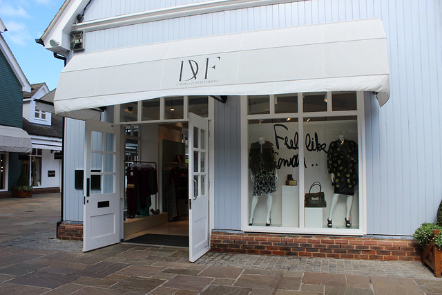 Bicester Village shops DVF